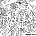 Free Swear Word Coloring Pages Inspiring Coloring Curse Word Coloring Pages Free Printable at Getdrawings