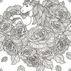 Free Unicorn Pictures Pretty 481 Best Coloring Pages Horse Adult Coloring Pinterest for Free