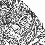 Free Zentangle Printables Awesome Beautiful Little Foot Coloring Sheet – Tintuc247