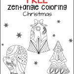 Free Zentangle Printables Best Of Zentangle Coloring Pages for Adults Free Printable Christmas