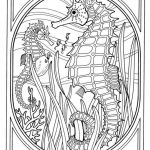 Free Zentangle Printables Inspirational Zentangle Sea Animal Coloring Pages – Coloring Pages Online