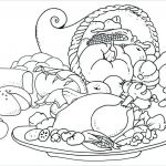 Freee Printable Coloring Pages Inspiration Inspirational Thanksgiving Food Coloring Pages Nocn