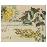 French Script Wrapping Paper Brilliant Vintage Wrapping Paper – Wrapping Paper