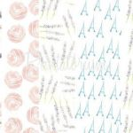 French Script Wrapping Paper Creative Paris T Wrap
