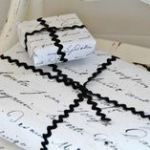 French Script Wrapping Paper Inspiring 157 Best Gift Wrapping Images In 2012