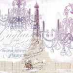 French Script Wrapping Paper Marvelous Paris themed Wrapping Paper Gift Wrap & More