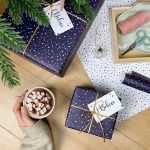 French Script Wrapping Paper Wonderful Wrapping Paper