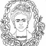 Frida Kahlo Coloring Book Creative 58 Best People Power Coloring Pages Images In 2016