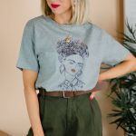 Frida Kahlo Coloring Book Inspiration Be More Frida Illustrated T Shirt Uni by Rock On Ruby