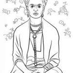 Frida Kahlo Coloring Book Marvelous 20 Best Colouring Pages Images In 2016