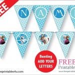 Frozen Free Printable Awesome Free Frozen Party Bunting Freeprintables4u See My Website for More