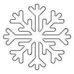 Frozen Snowflake Stencil Best Of Printable Snowflake Templates for Cakes Kids Coloring Snowflakes