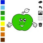Fruit Coloring Book Excellent Fruit Coloring Book for Children Learn to Color the World Of Food