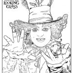 Full Size Coloring Pages for Adults Brilliant Check Out these Alice Through the Looking Glass Coloring Pages
