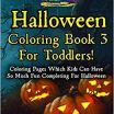 Fun Halloween Coloring Pages Inspirational Halloween Coloring Book 3 for toddlers Coloring Pages which Kids