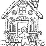 Gingerbread House Coloring Awesome 4836 Best Color Sheets Images In 2019