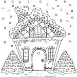 Gingerbread House Coloring Beautiful Coloring Pages House Rooms Coloring Pages Patinsudouest
