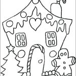 Gingerbread House Coloring Best Christmas Coloring Pages for Adults – Fatheredward