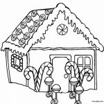 Gingerbread House Coloring Excellent House Coloring Pages Printable Luxury House Coloring Pages How to
