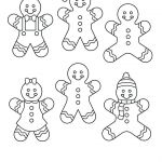 Gingerbread House Coloring Inspirational Gingerbread Man Printable Template Gingerbread Man Cutout Template