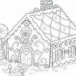 Gingerbread House Coloring Marvelous Printable Coloring Pages Gingerbread House Unique Free Printable