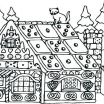 Gingerbread House Coloring Page Best Of Gingerbread Man Coloring Pages Story House Candy Baby Monster