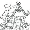 Gingerbread House Coloring Page Best Of House Coloring Pictures