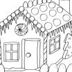 Gingerbread House Coloring Page Inspirational Incredible Design Ideas Gingerbread House Coloring Pages Printable