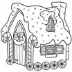 Gingerbread House Coloring Page Unique Free Christmas Coloring Pages for Adults and Kids Happiness is