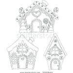 Gingerbread House Coloring Wonderful House Bud Template Free Home Lovely Bud Simple Excel Renovation