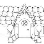 Gingerbread House Coloring Wonderful the Loud House Coloring Page