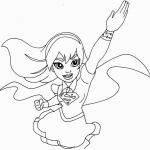 Girls Super Heros Brilliant Super Hero Girls Coloring Pages Stylish Tutorial Girl Superhero