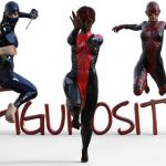 Girls Super Heros Creative Superhero Poses Figurosity