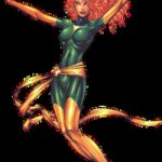 Girls Super Heros Elegant Jean Grey