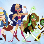 "Girls Super Heros Elegant Preview Clips for Cartoon Network S ""dc Super Hero Girls"" Movie"