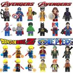Girls Super Heros Exclusive 2019 Mini Figures Avengers Super Hero Wonder Woman Dragon Ball Goku