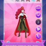 Girls Super Heros Inspirational Super Hero Princess Dress Up the Frozen Power Game