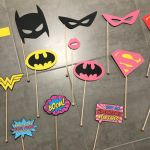 Girls Super Heros Pretty Super Hero Girl Booth Props Superhero Party Decorations