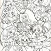 Glitter force Colouring Pages Unique 28 Best Precure Images In 2017