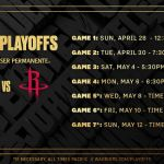 Golden State Warriors Coloring Pages Amazing Warriors Announce Schedule for Semifinals Against Rockets