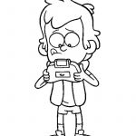 Gravity Falls Coloring Pages Inspiration Bobs Burgers Coloring Pages