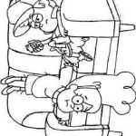 Gravity Falls Coloring Pages Wonderful Gravity Falls Coloring Pages Unique Gravity Falls Dibujos Para