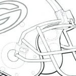 Green Bay Packers Coloring Book Inspired Green Bay Packers Helmet Coloring Pages – Rosaartur