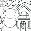 Grown Up Coloring Book Pdf Awesome Snowball Fight Winter Coloring Pages Line Halloween Cat Pdf