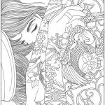 Grown Up Coloring Pages Pretty Wel E to Dover Publications Body Art Tattoo Designs Coloring