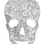 Gypsy Coloring Pages Awesome Sugar Skull Tattoo Line Drawing Rose Tatoo