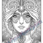 Gypsy Coloring Pages Best Of Magical Coloring Pages Ronniebrownlifesystems