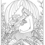Gypsy Coloring Pages Fresh Mermaid and Baby Coloring Page Elegant Coloring Pages Pencils