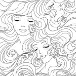 Gypsy Coloring Pages Unique Coloring Pages Beautiful Lady