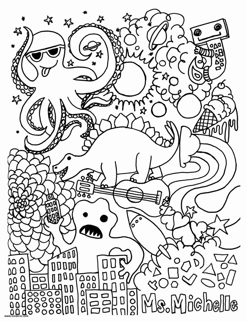 New Halloween Coloring Page 2019